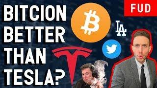 WHY BITCOIN IS BETTER THAN TESLA?  ETF Dodgers WaltonChain Coinbase & Crypto News!