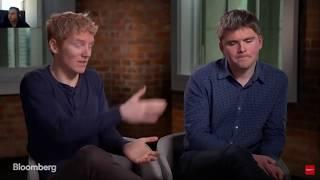 Stripe Co Founders on Bitcoin   Cryptocurrency Future!   Bloomberg - Cryptocurrency