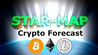 LIVE Analysis Bitcoin Ethereum Litecoin Crypto $BTC $ETH $LTC 24/7 [Star-Map Forecast 2018]