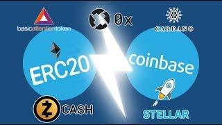 5 New Potential Coins to Be Added On Coinbase [BAT, 0x, ADA, XLM, ZEC]