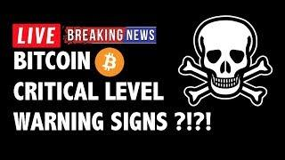 Critical Level Warning for Bitcoin (BTC)?! - Crypto Market Technical Analysis & Cryptocurrency News