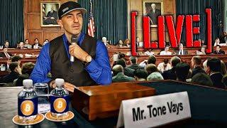 If Tone Vays Spoke in Front of Financial Services Crypto Hearing July 18, 2018