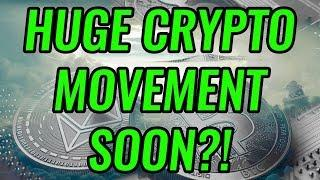 Huge Movement Coming Soon For Bitcoin & Crypto Markets! BTC, ETH, LTC, & Cryptocurrency News!