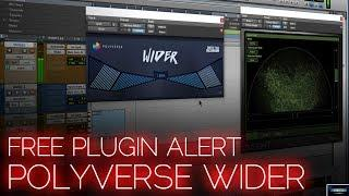 FREE PLUGIN ALERT | WIDER (POLYVERSE - INFECTED MUSHROOM) ????