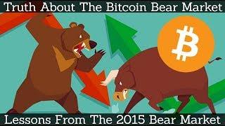 Truth About The Bitcoin Bear Market | Lessons From The 2015 Bear Market