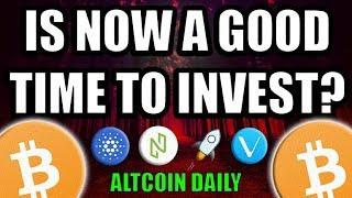 IS NOW A GOOD TIME TO INVEST IN BITCOIN? HOW I WOULD SPEND $1000! [Cryptocurrency Strategy]