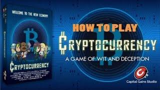 Cryptocurrency Board Game - How To Play Video