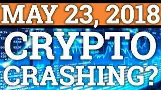 CRYPTOCURRENCY CRASHING? CARDANO ADA + RIPPLE XRP,  BITCOIN BTC PRICE PREDICTION 2018! WHEN MOON?