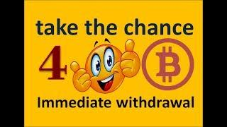 Bitcoin 4 BTC Online withdrawal bitcoins The secret of collecting money bitcoin