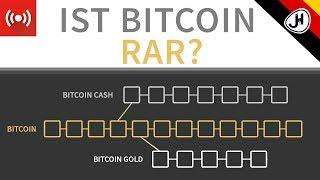 Krypto Forks - Ist Bitcoin tatsächlich rar?