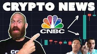 CNBC Ignites Bull Market | $BTC Breaks $7K | $1Trillion in 2018