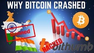 Why BITCOIN CRASHED Overnight - Flash Crash EXPLAINED (Crypto News)