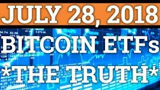 THE TRUTH ABOUT BITCOIN ETFS AND PRICE MANIPULATION! BTC, ETH, RIPPLE XRP CRYPTOCURRENCY NEWS 2018