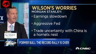 Stock Market Decline vs Cryptocurrency bounce?   CNBC Fast Money