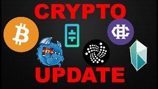 Crypto Update: Bitcoin (BTC) / Dragonchain (DRGN) / IOTA (MIOTA) / Theta Token/ Hshare (HSR)/ KNC