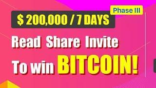 "Daily Bitcoin bonus Onlin earning in real see full video"" आता ऑनलाईन पैसे कमवा ते पण खरच. आणि लीगल//"