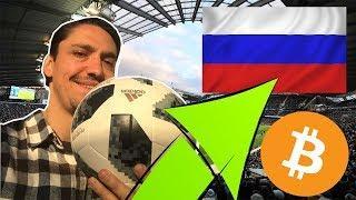 ¿ BITCOIN AL ALZA POR EL MUNDIAL DE FUTBOL RUSIA 2018 ?