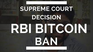 Supreme Court Refuses Stay | Rbi Bitcoin Ban India | Altcoin Crypto News Update