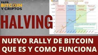 Cuando sera el próximo Rally de #Bitcoin, Los Halving indican Respuesta