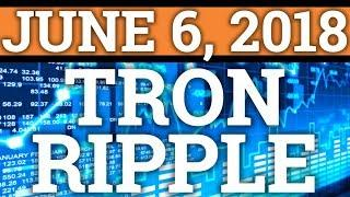 TRON TRX AND RIPPLE XRP ABOUT TO MOON? COIN PRICE PREDICTION, CRYPTOCURRENCY + BITCOIN BTC NEWS 2018