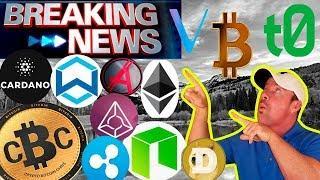 5 Coins to Watch! - Bitcoin Rich List (FBI?) - Ripple XRP 5 New Exchanges!- ADA NEWS!