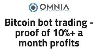 Bitcoin trading bot - Proof of 10%+ profit a month results and how it works