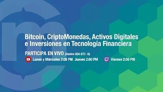 En vivo hablando de #Bitcoin y #Criptomonedas - Octubre 3, 2018