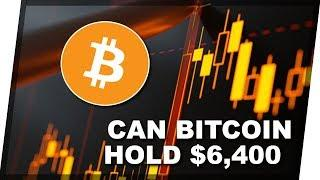 Bitcoin Approaches Crucial Support At $6,400... But Will It Hold | Daily Crypto News 10/3/2018
