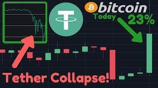 BITCOIN PUMPING & TETHER COLLAPSING!! | What's Going On??