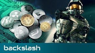 Cryptocurrency in video games, Halo TV Show - Backslash