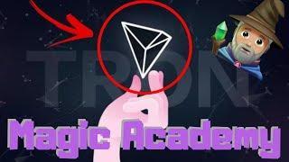 (Magic Academy) $TRX Tron Announces A New Crypto Video Game