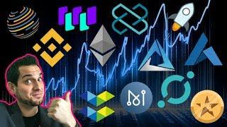 ???? Altcoins BLASTOFF!!! Nasdaq To List Cryptos? $BTC ETN | Binance LCX | $FCT $ICX $MAN $WTC