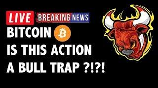 Is This a Bull Trap for Bitcoin (BTC)?! - Crypto Market Technical Analysis & Cryptocurrency News