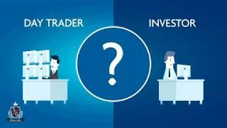Day trading vs Investing animated