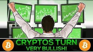 Cryptos Turn VERY BULLISH After HUGE News (All-Time Highs Again?)