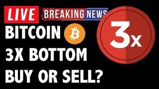 BUY OR SELL THE BITCOIN (BTC) TRIPLE BOTTOM?! CRYPTOCURRENCY TRADING ANALYSIS & NEWS