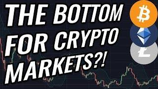 3 Reasons Why We're Close To A Bottom For Bitcoin & Crypto Markets! BTC, ETH, BCH, LTC & Crypto News