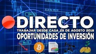 Directo: Oportunidades de Inversión en Bolsa -  Bitcoin, Tesla, Apple, Twitter, Inditex... y más.