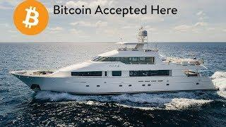 Multimillion Dollar Yachts For Sale: Cryptocurrency Accepted