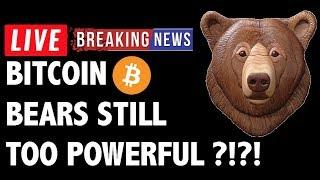 Are The Bitcoin (BTC) Bears Still Too Powerful?! - Crypto Trading & Cryptocurrency Price News