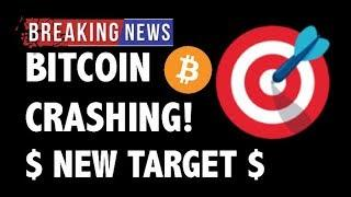 CRYPTO: BITCOIN CRASH! NEW TARGETS! - CRYPTOCURRENCY,LITECOIN,ETHEREUM,XRP RIPPLE,TRON TRX,BTC NEWS