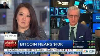 Bitcoin Fails to Hit 10k! | CNBC Fast Money