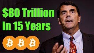 $80 Trillion Market Cap Prediction - Daily Bitcoin and Cryptocurrency News