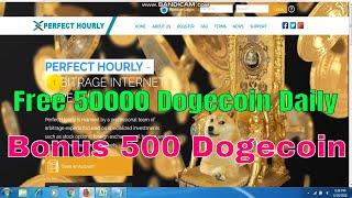????New Dogecoin Mining Site 2018 | Free 500 Dogecoin Sign Up Bonus | Earn Free 50000 Dogecoin Daily