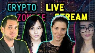 Crypto Zombie | Altcoin Buzz Ladies | Rhode Block | Crypto Candor | Cryptocurrency Chat $BTC $ETH ??