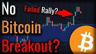 Did The Bitcoin Breakout Fail? Is There More To Come?