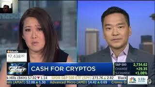 Does Cash for Cryptos mean BTC Bear Market?!    CNBC Fast Money