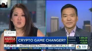 Cryptocurrency / Bitcoin Game Changer coming!! | CNBC Fast Money