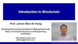Intro to Introduction to Blockchain & Cryptocurrency course