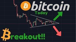 Breakout Imminent!! Bearish Or Bullish?? [Bitcoin Today]